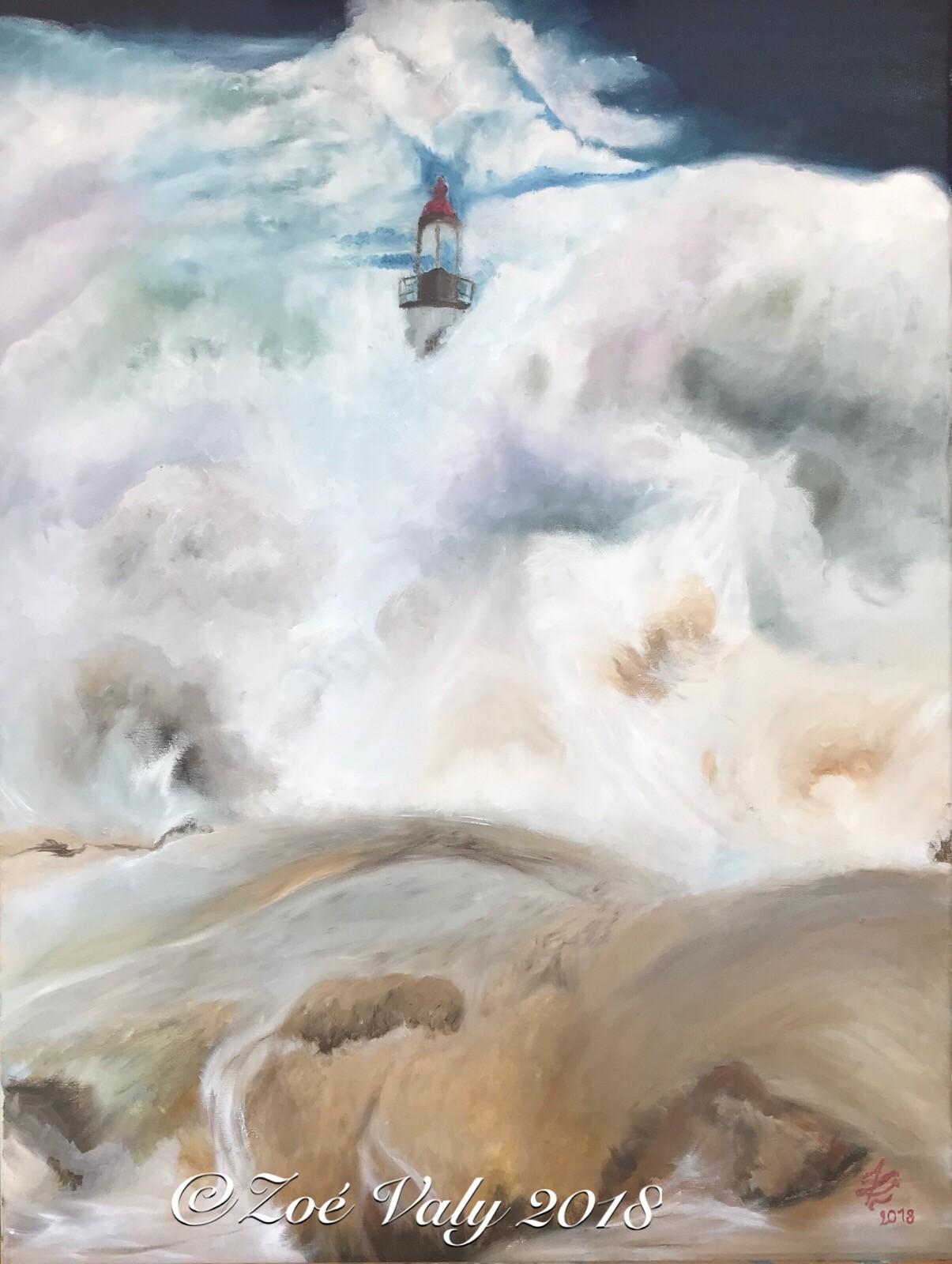 Zoé Valy - Phare en tempête