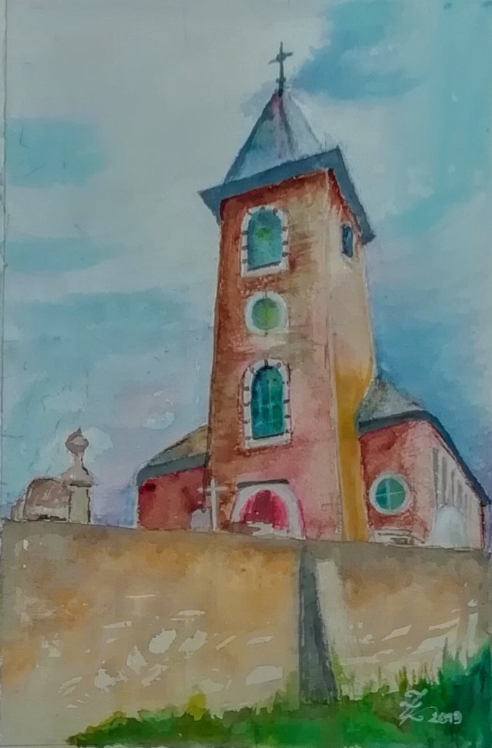 Zoé Valy - Eglise de Montignies