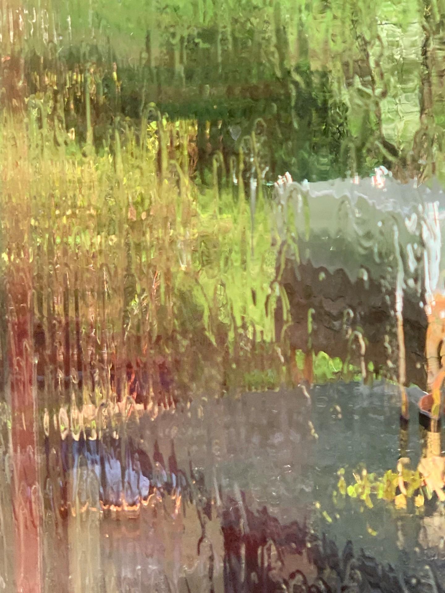 Zoé Valy - Toile de l'artiste «Pluie»