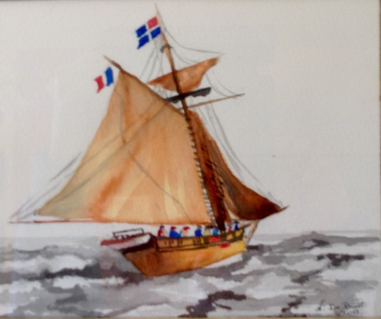Zoé Valy - Petit voilier