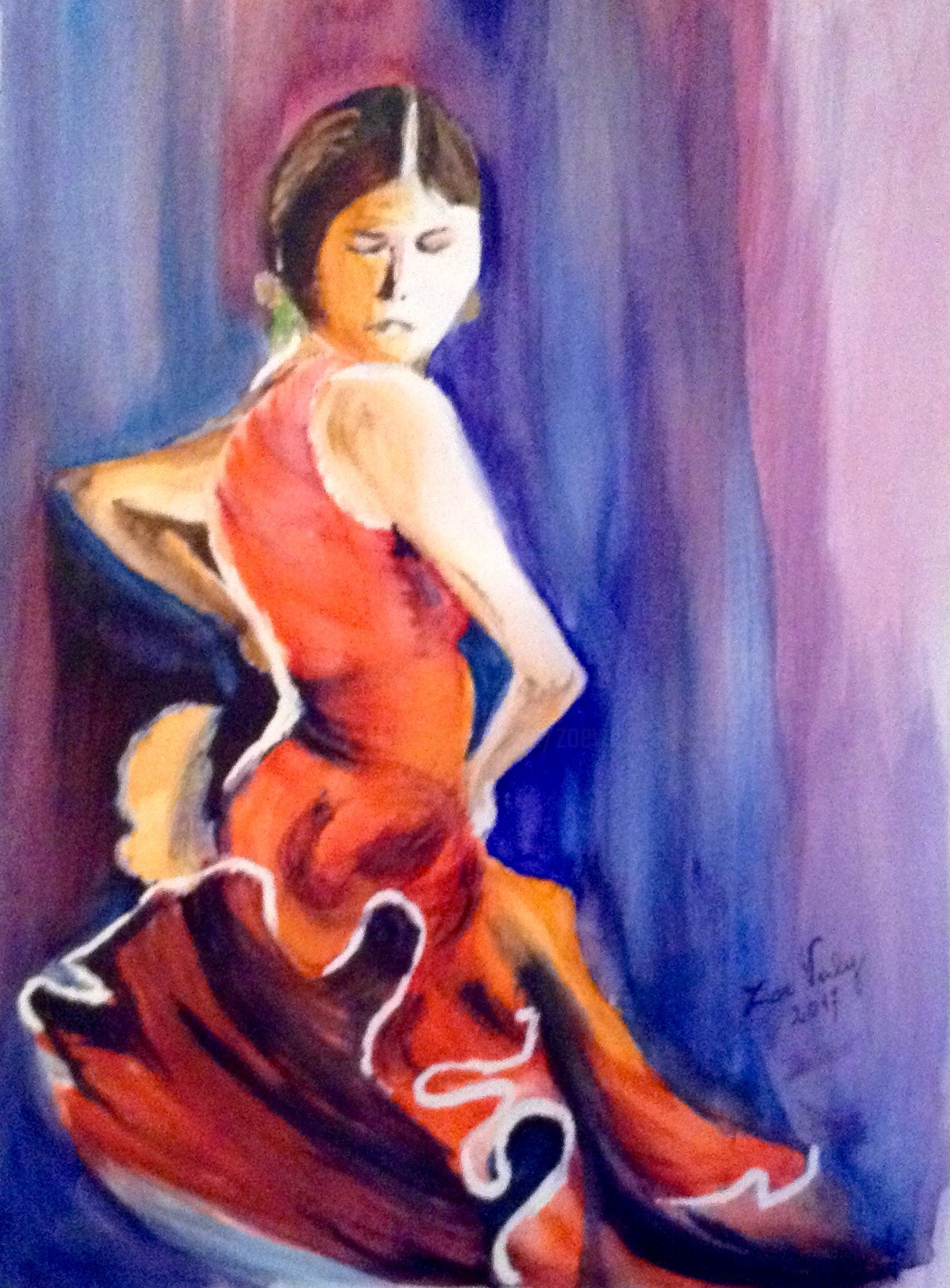Zoé Valy - Flamenca