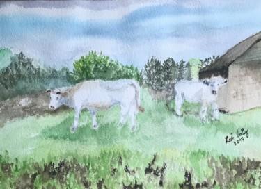 Les vaches dans le pré