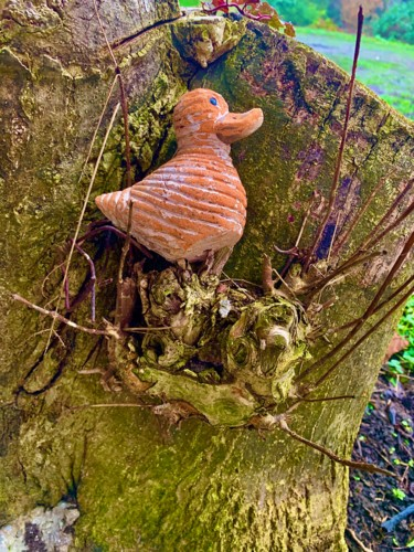 Petit Canard dans l'Arbre