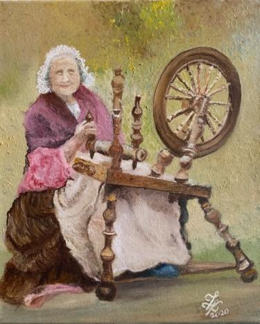 La Vieille Dame au Rouet