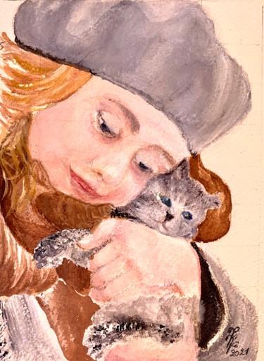 Scarlett et son chaton