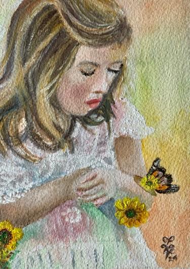 Et Scarlett dit «Vole Petit Papillon»