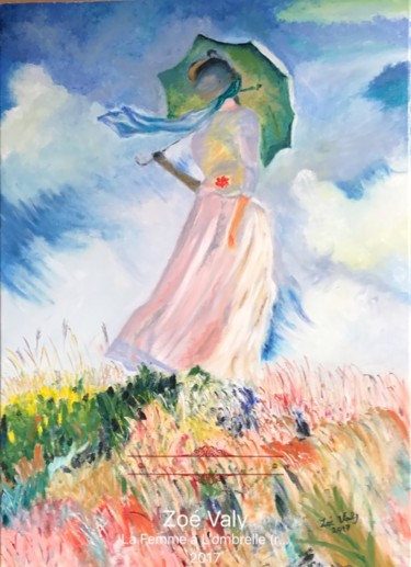 "Reproduction de ""La Femme à l'Ombrelle"" Monet.jpg"